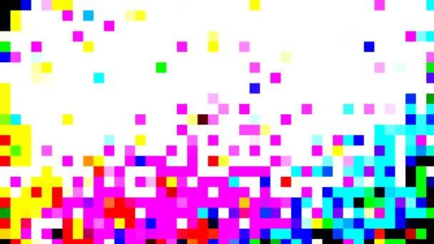 mehrfarbig schillernde Retro-Nahaufnahme mit Halbton-Effekt