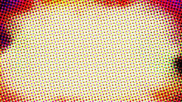 Abstraktní barevné retro polotónů efekt