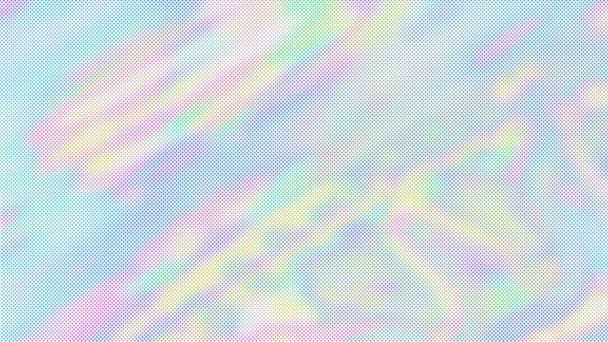 Holografické abstraktní živé tapety. Rainbow barevné pohybu pozadí