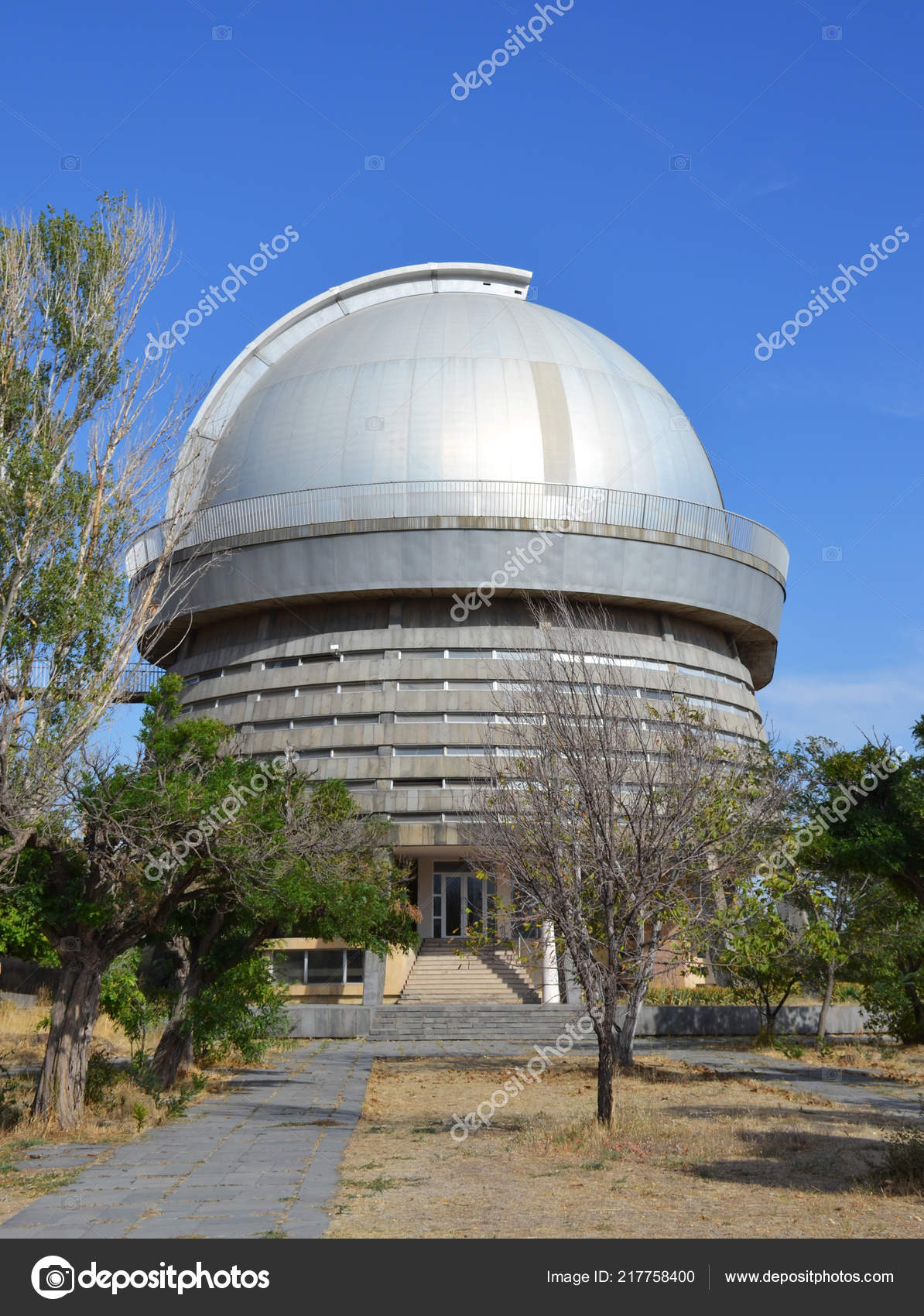 Astronomical Observatory Telescope Byurakan Armenia Stock Photo C Arevhamb 217758400