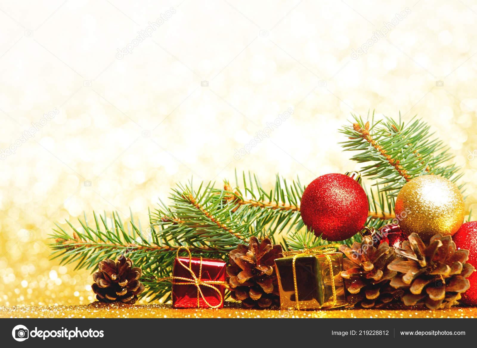 Carte Image Noel.Carte Noel Avec Branche Sapin Decoration Sur Fond Paillettes