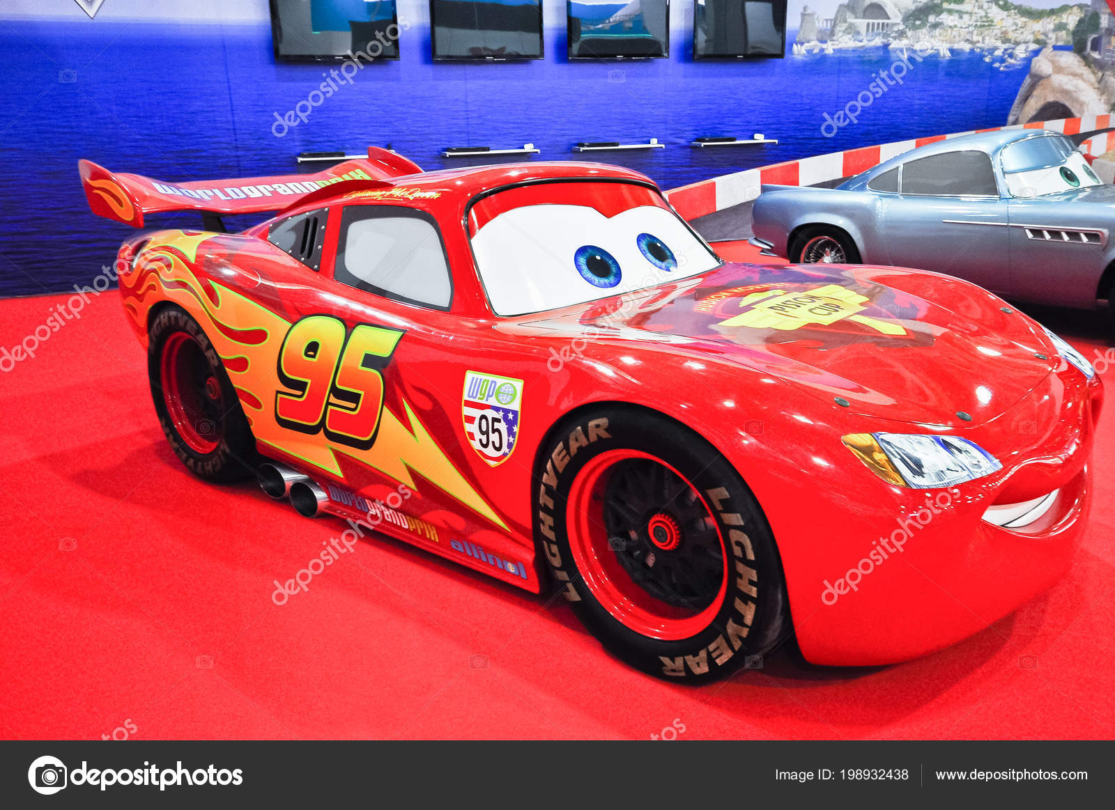Russia Moscow Expocentre August September 2012 Cars Animated Movie