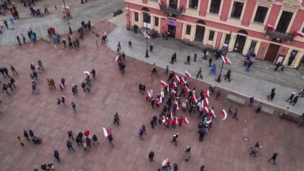 POLAND, WARSAW - 11 November 2018: Polish independence day