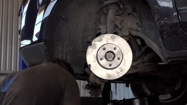 Auto mechanik posílit Auto brzdové kotouče a destičky