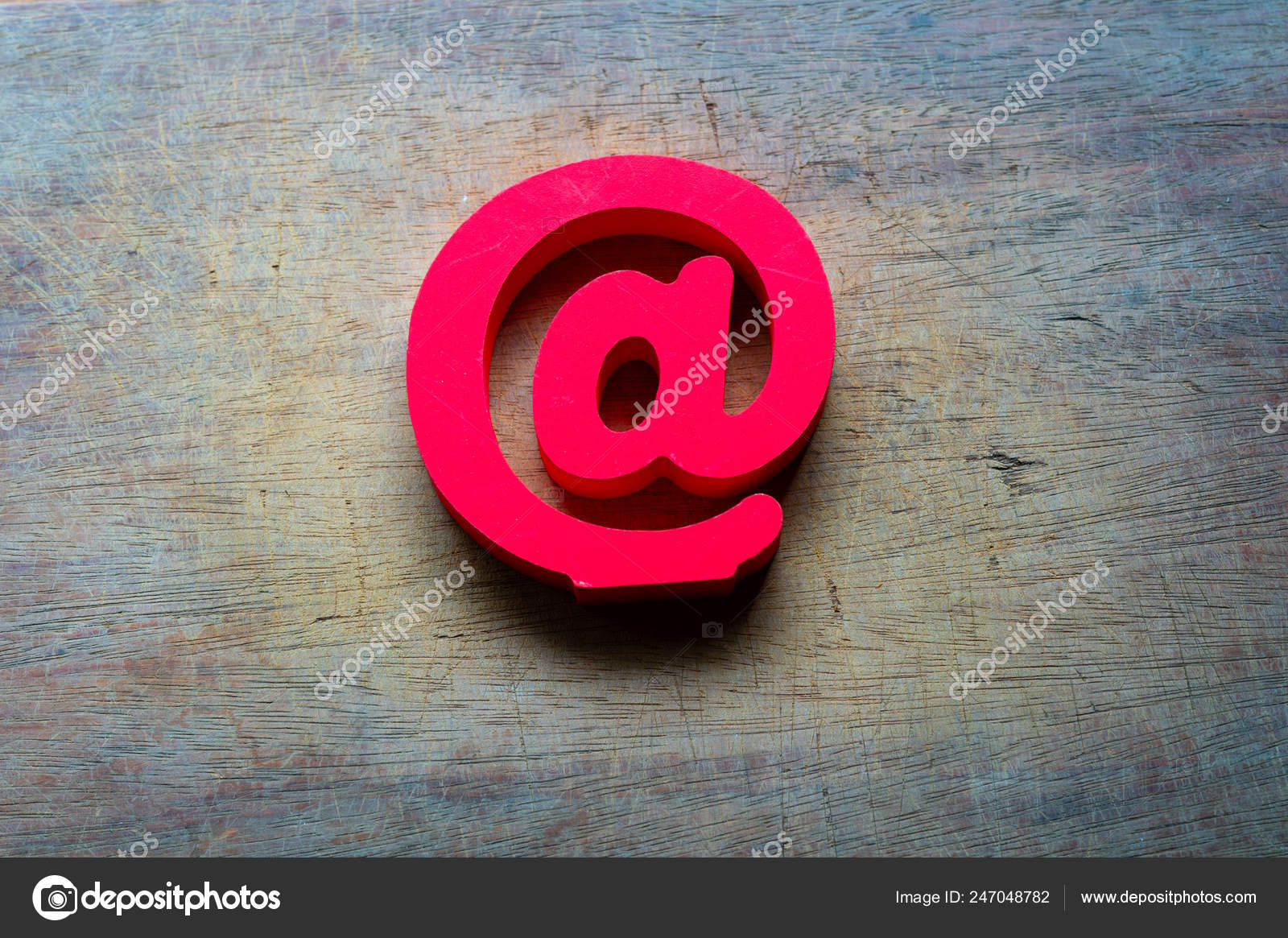 Email Symbol Wooden Background Concept Internet Contact Mail Address Stock Photo C Robbin0919 Gmail Com 247048782