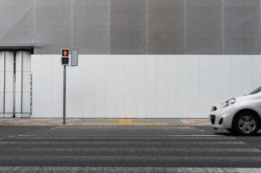 street wall background ,Industrial background, empty grunge urba