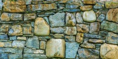 Texture of dark brickwork. Close-up. Building background.