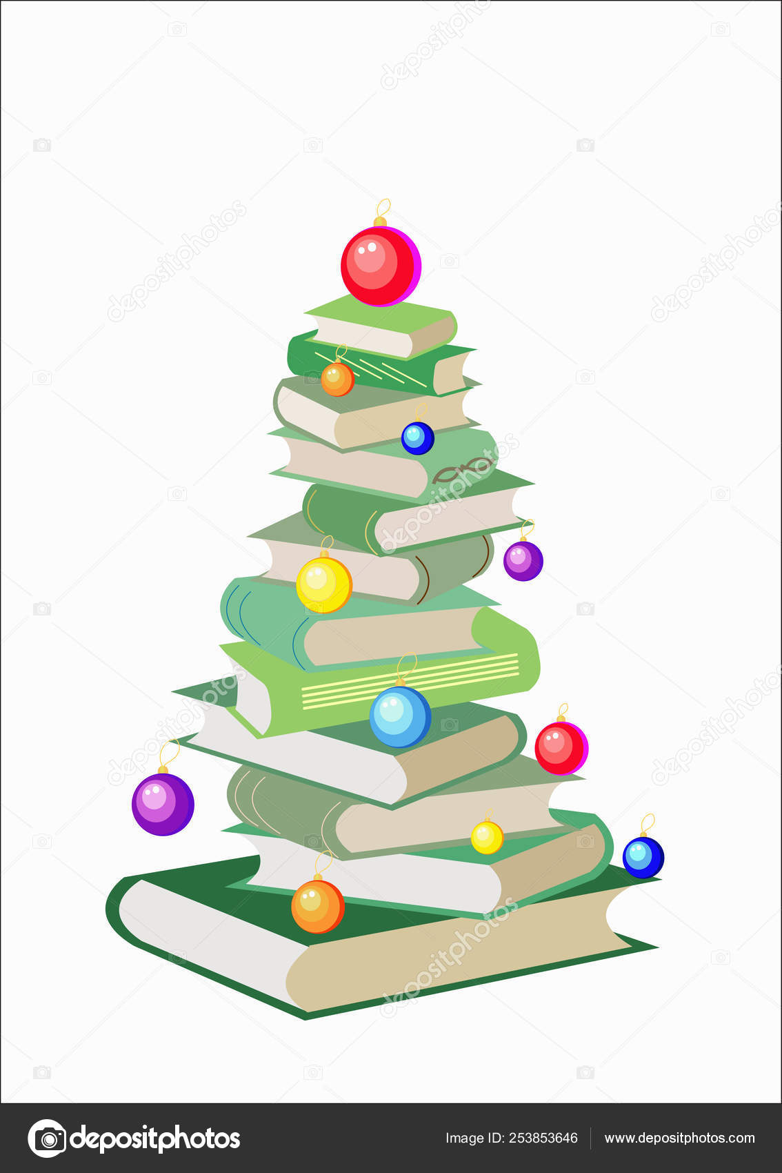 Vector Christmas Tree Made From Colorful Books Decorated With Balls Isolated White Background Cartoon X Mas Illustration Cute Bright Pile Of Books Home Library Happy Education Stock Photo C Lana U 253853646 Free christmas tree cartoons vector download in ai, svg, eps and cdr. vector christmas tree made from colorful books decorated with balls isolated white background cartoon x mas illustration cute bright pile of books home library happy education stock photo c lana u 253853646