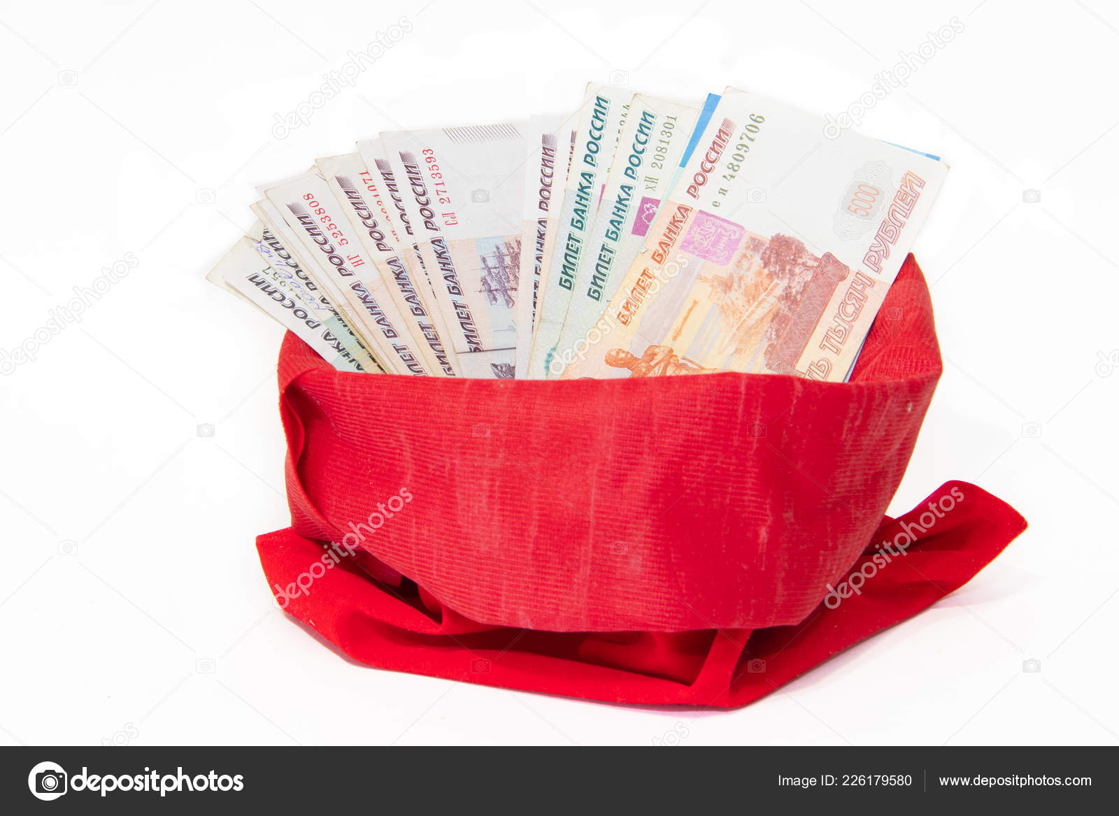 New Year Gift Money Bag Gift Adult New Year Christmas – Stock ...