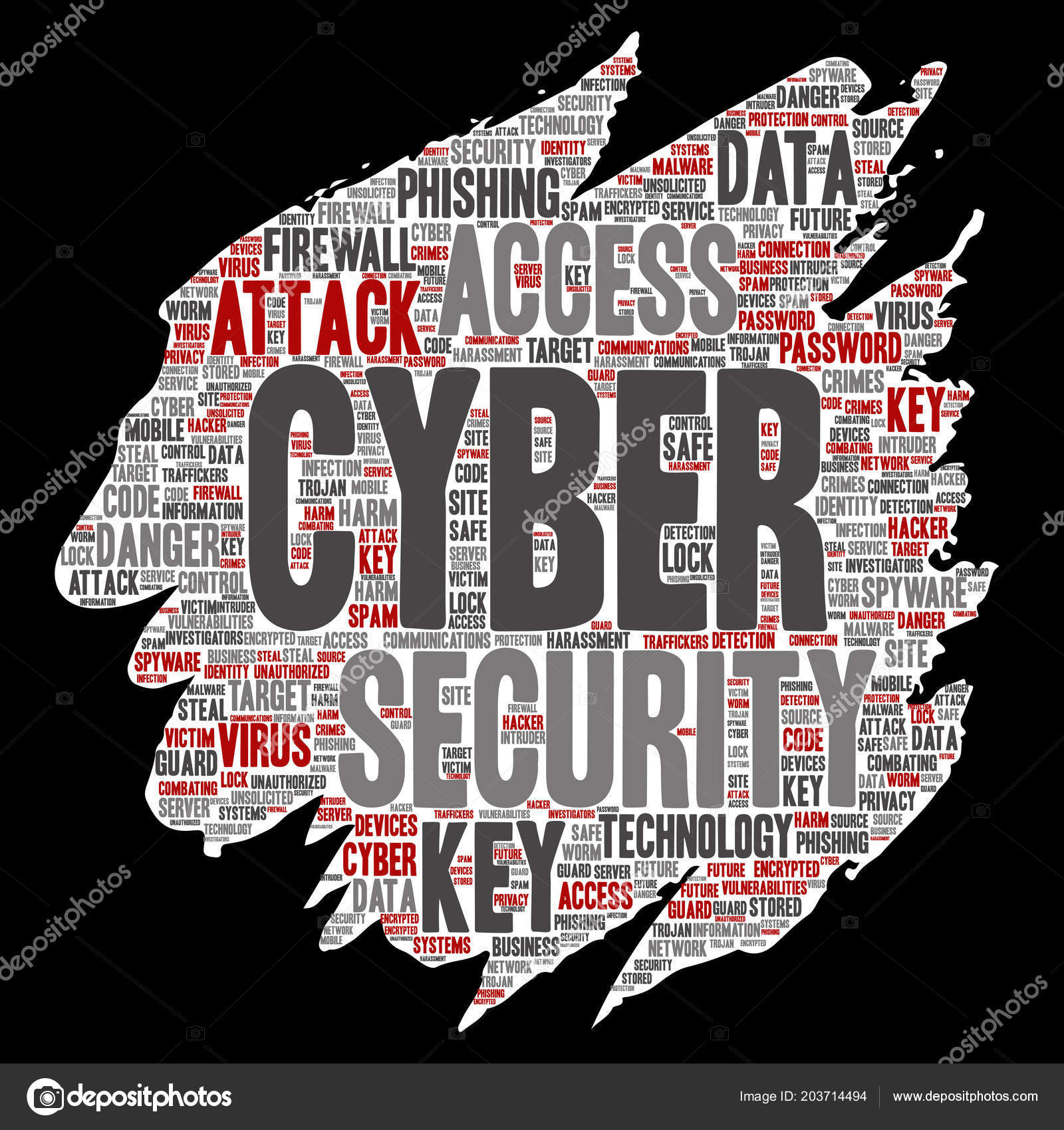 Vector Conceptual Cyber Security Online Access Technology