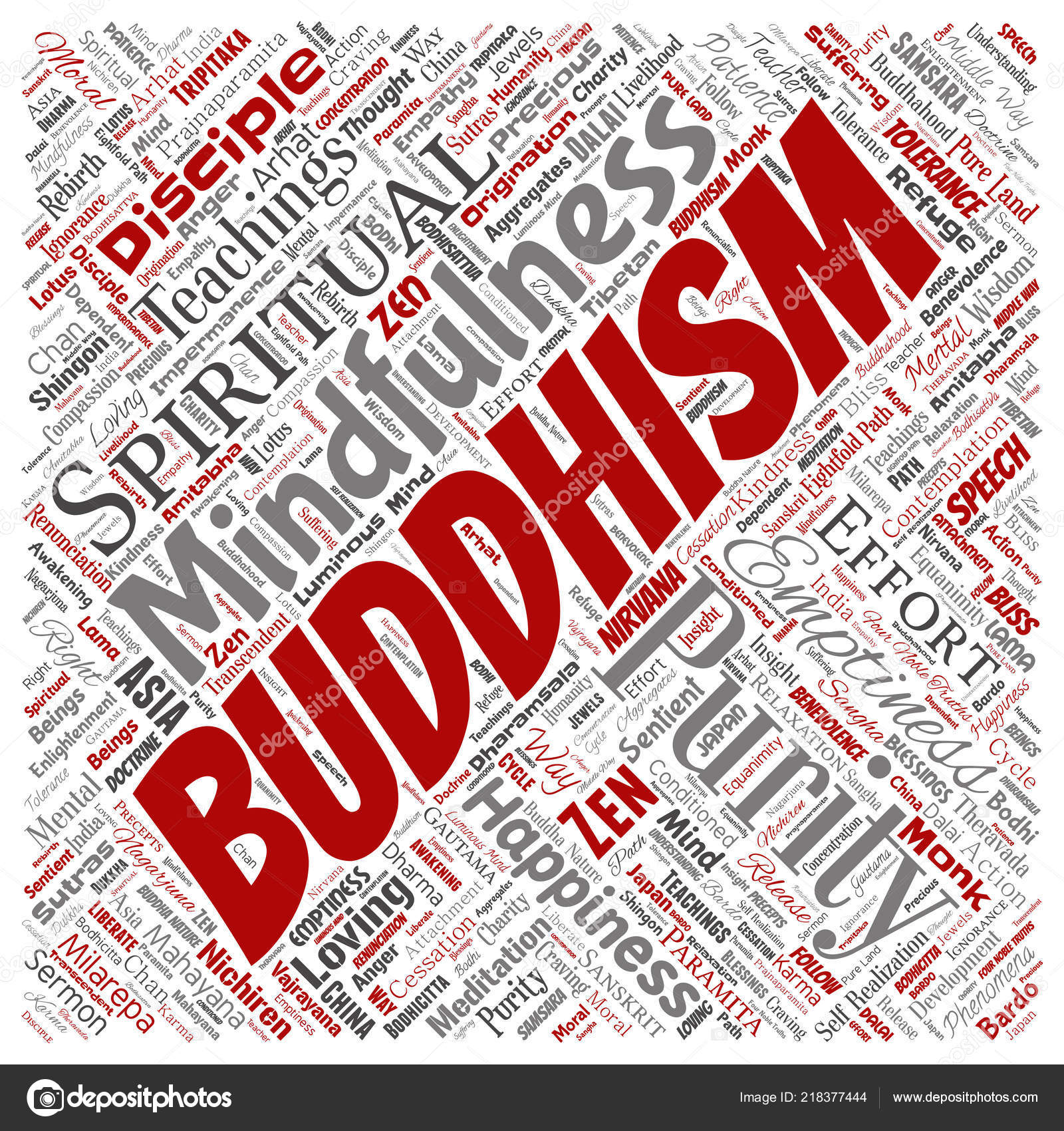 Buddhism karma best photo