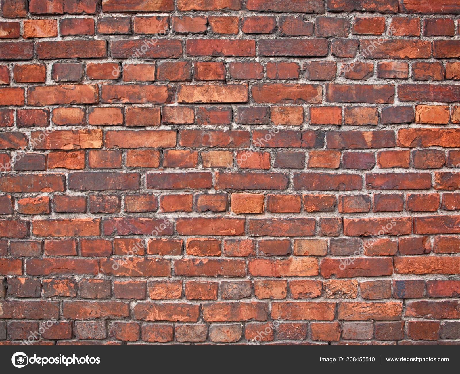 Muro Ladrillo Textura Ladrillo Fondo