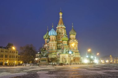 Russia. Moscow. St. Basil's Cathedral on Red Square