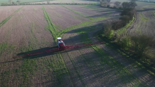 Azienda agricola spruzzatore utilizzato per colture di Spray con il controverso erbicida glifosato