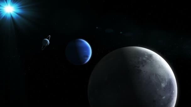 Realistické planety z vesmíru