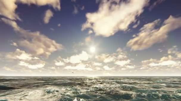 Oceán na pěkný slunečný den. Moře dovolená, příroda, resort. Krásné letní pozadí