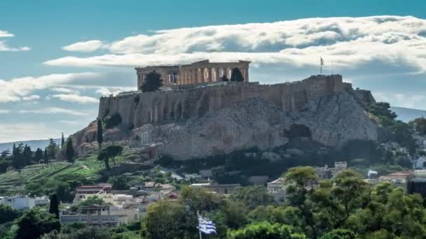 acropolis view from behind