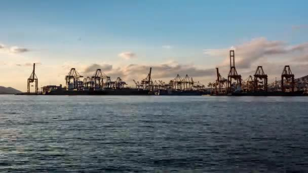 Trading Port Activity, ships, trucks,vehicles, Hoisting Cranes
