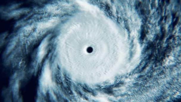 Hurricane in toilet