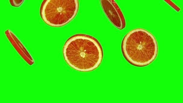 Sections of orange