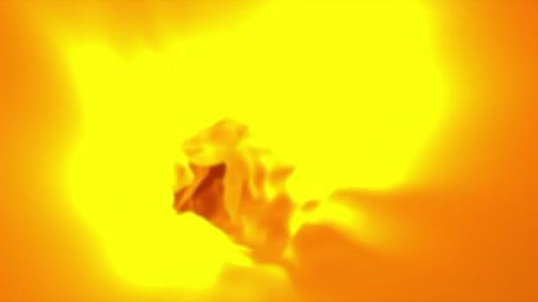 Orangefarbenes abstraktes Tuch