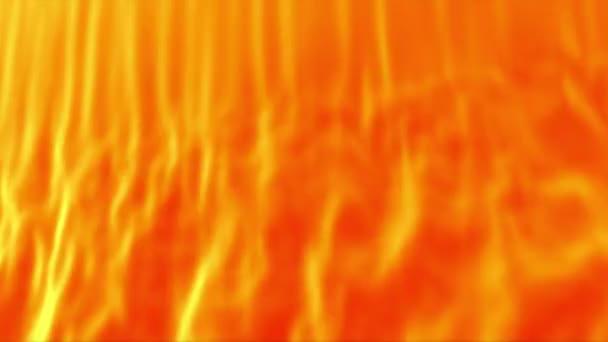 Oranžové abstraktní opona