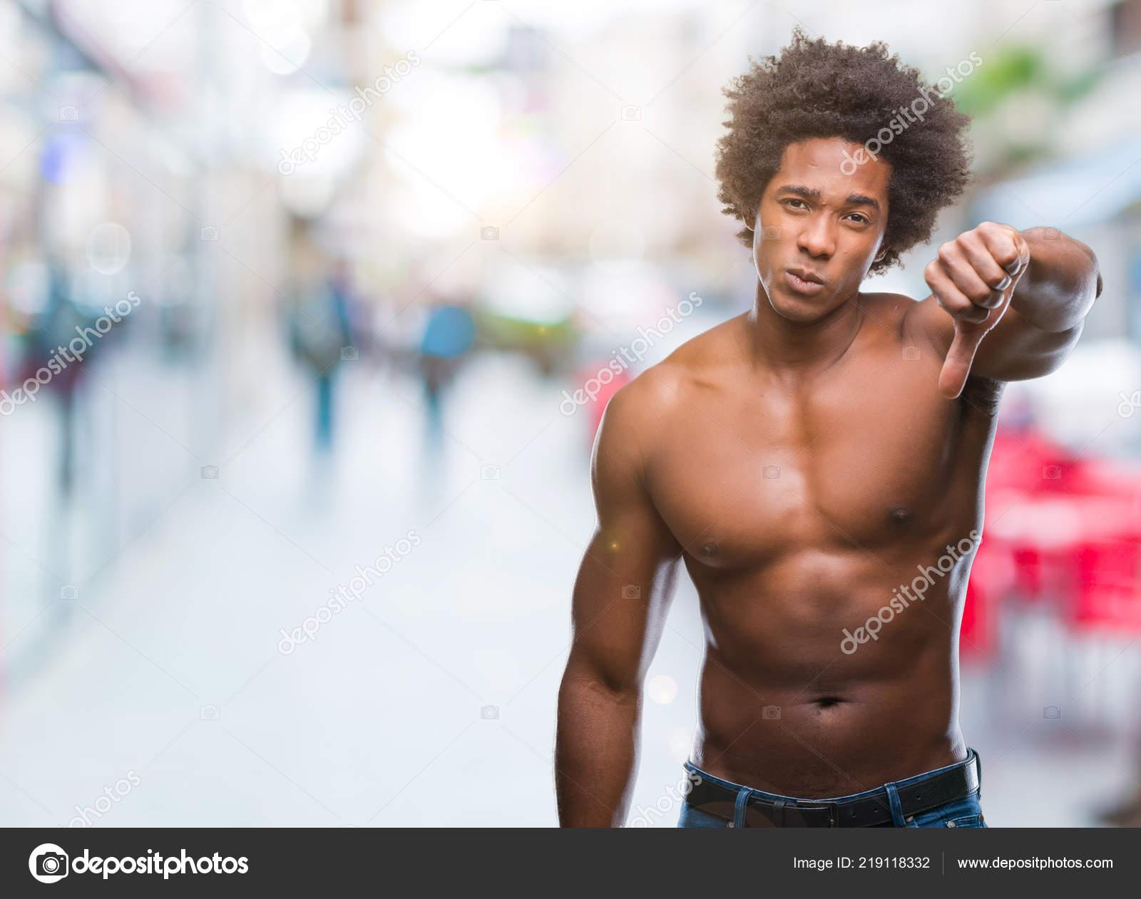 African nude Black american men