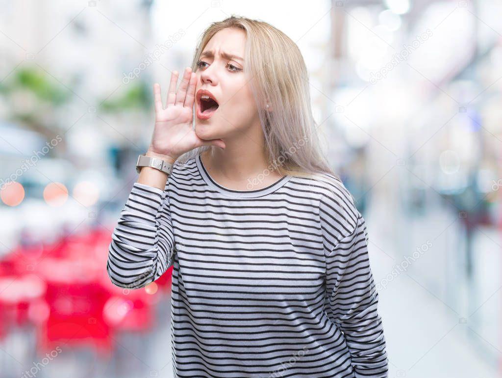 Громко кричат блондинки 4