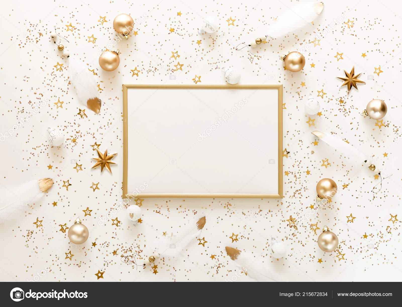 Christmas Background Images Gold.Christmas Background Gold White Christmas Decorations Frame