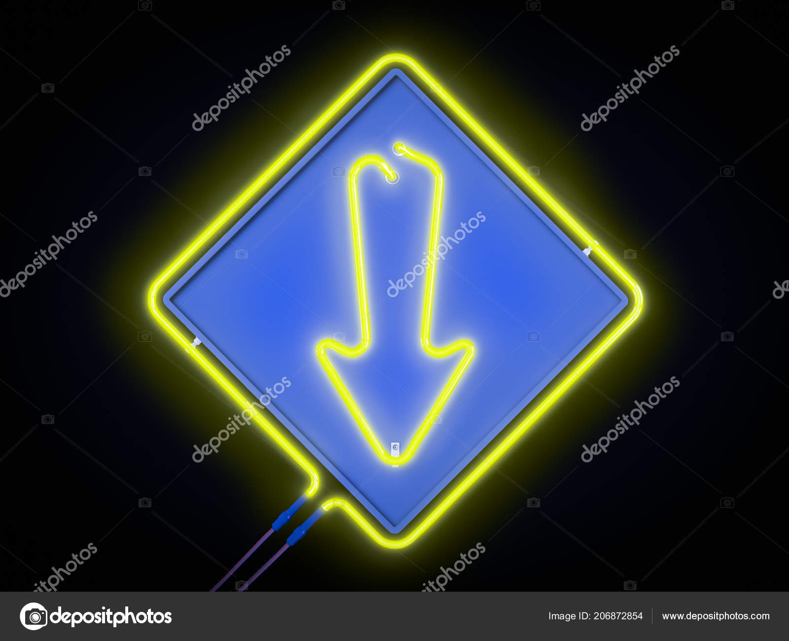 f038072e16f Neon Lights Frames Sign Template Decoration Covering Dark Background