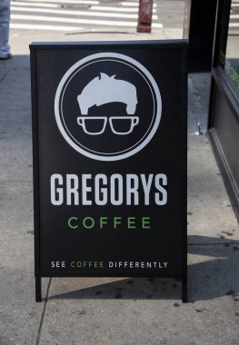 Gregory Coffee Shop in New York City, USA. Photo Taken On: August 17, 2015