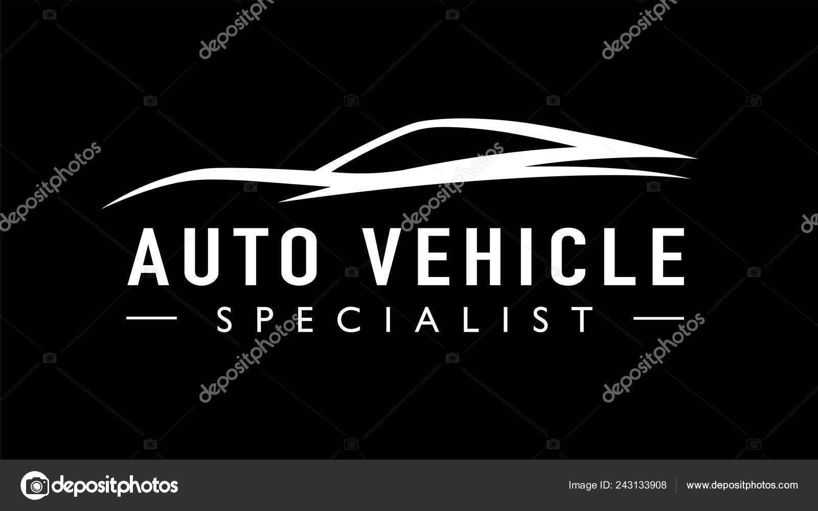 Modern Auto Sports Car Logo Template Design Concept Supercar Vehicle Stock Vector C Themoderncanvas 243133908