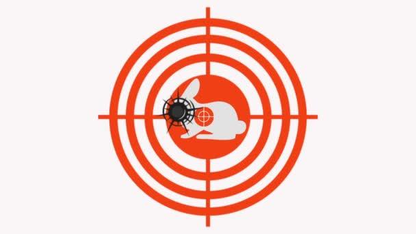 célja, lövések a cél