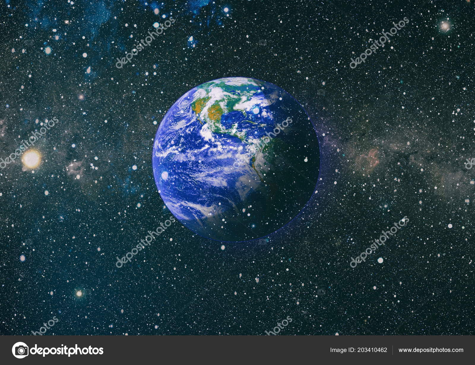 Earth Outer Space Collage Abstract Wallpaper Our Home Elements Image