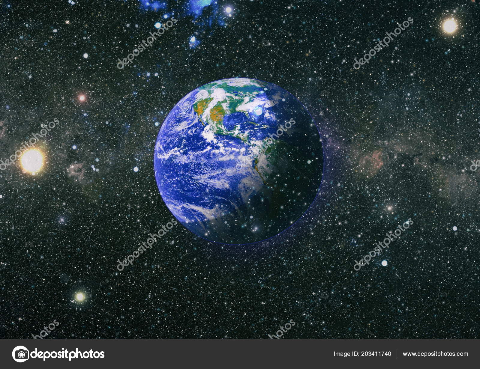 Earth Outer Space Collage Abstract Wallpaper Our Home