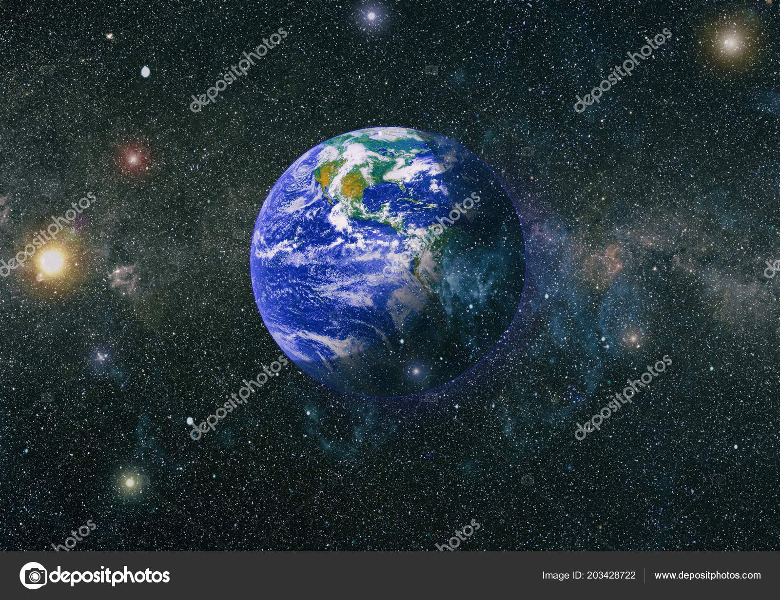 Earth Outer Space Collage Abstract Wallpaper Our Home Elements