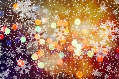 Abstract bokeh background.Can be used wallpaper texture and background for wed. Bokeh with copy space area for a text.