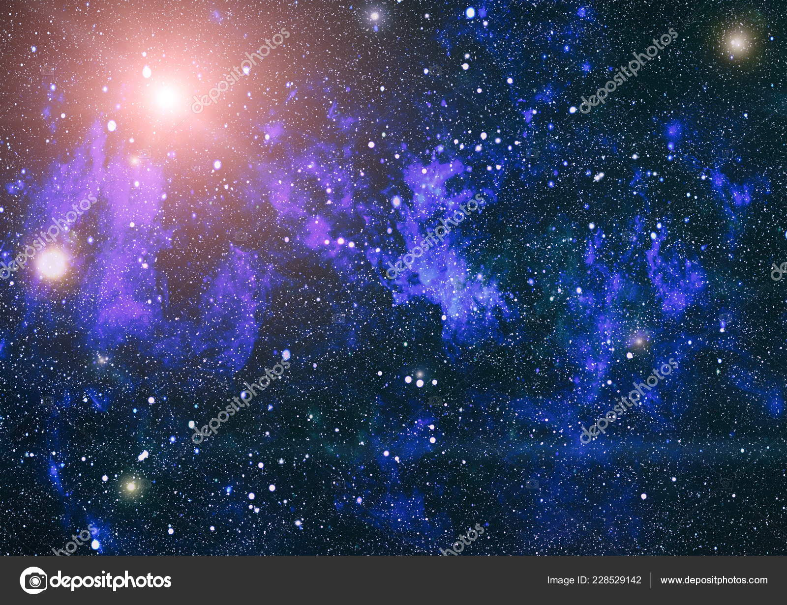 Deep Space High Definition Star Field Background Starry Outer