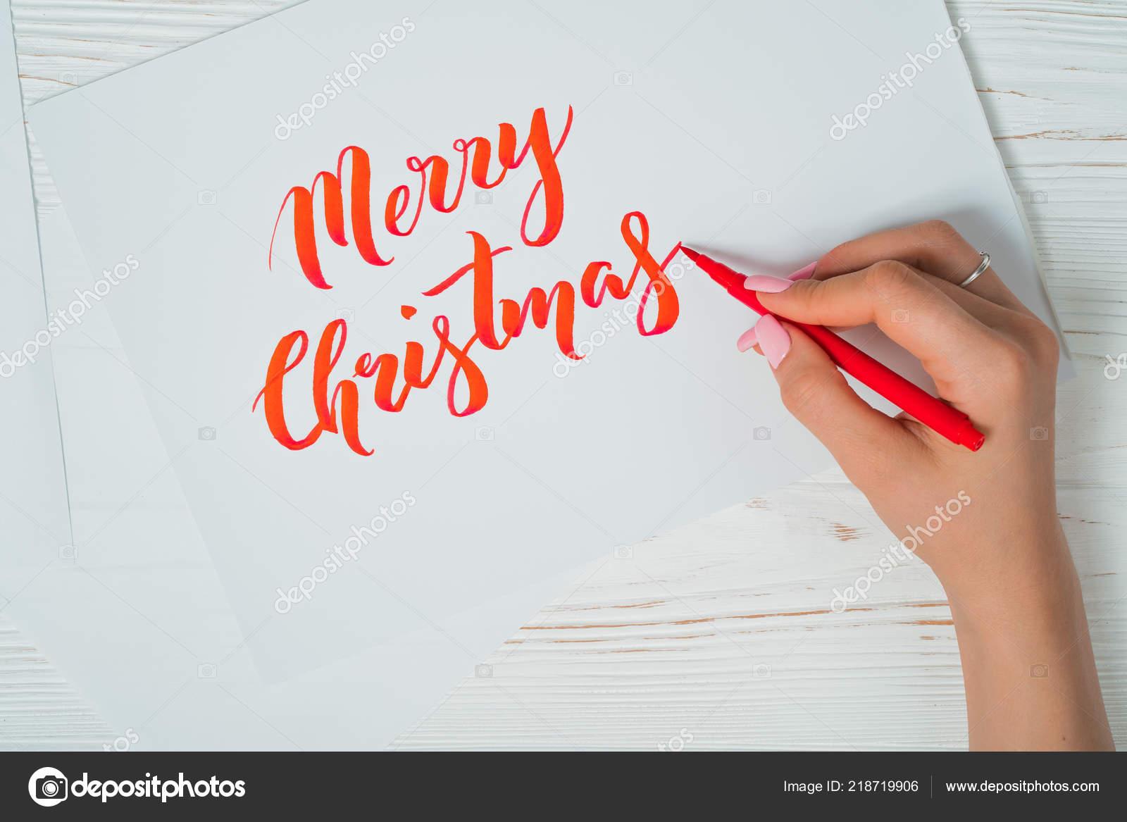 Creacion De Felicitaciones De Navidad.Felicitaciones De Navidad Felices Caligrafo Escribe Con