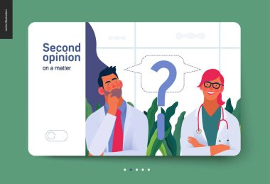 Medical insurance template - second opinion