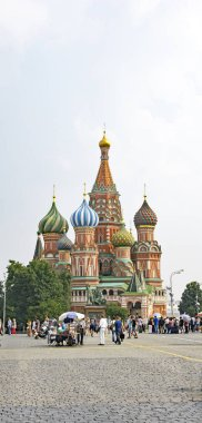 Architecture and Red Square of Moscow; 13:30 p.m .; July 15, 2016; Russia