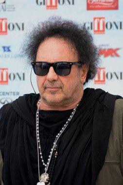 Giffoni Valle Piana, Sa, Italy - July 28, 2018 : Enzo Avitabile at Giffoni Film Festival 2018 - on July 28, 2018 in Giffoni Valle Piana, Italy