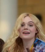 Giffoni Valle Piana, SA, Olaszország-július 22, 2019: Elle Fanning at Giffoni Film Festival 2019-on július 22, 2019 in Giffoni Valle Piana, Olaszország.
