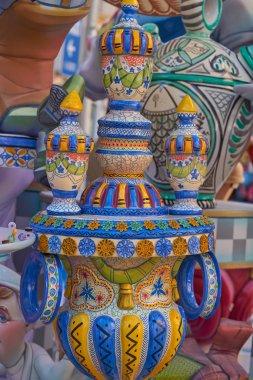 İspanya Valencia popüler festivalinde için Fallas tonlar