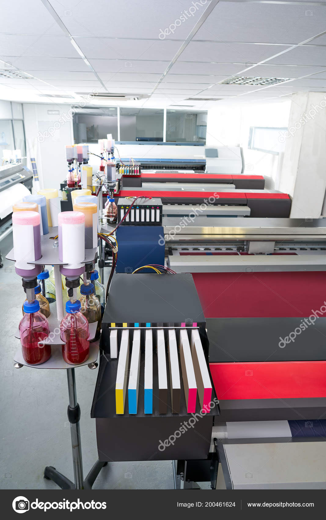 Printing Industry Transfer Paper Printer Factory Textile