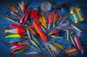 Halászati csalik kezelésére gyűjtemény sós trollingozáshoz és spinning horgász
