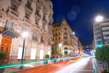 Granada Reyes catolicos street of Spain at andalusia Catholic Kings