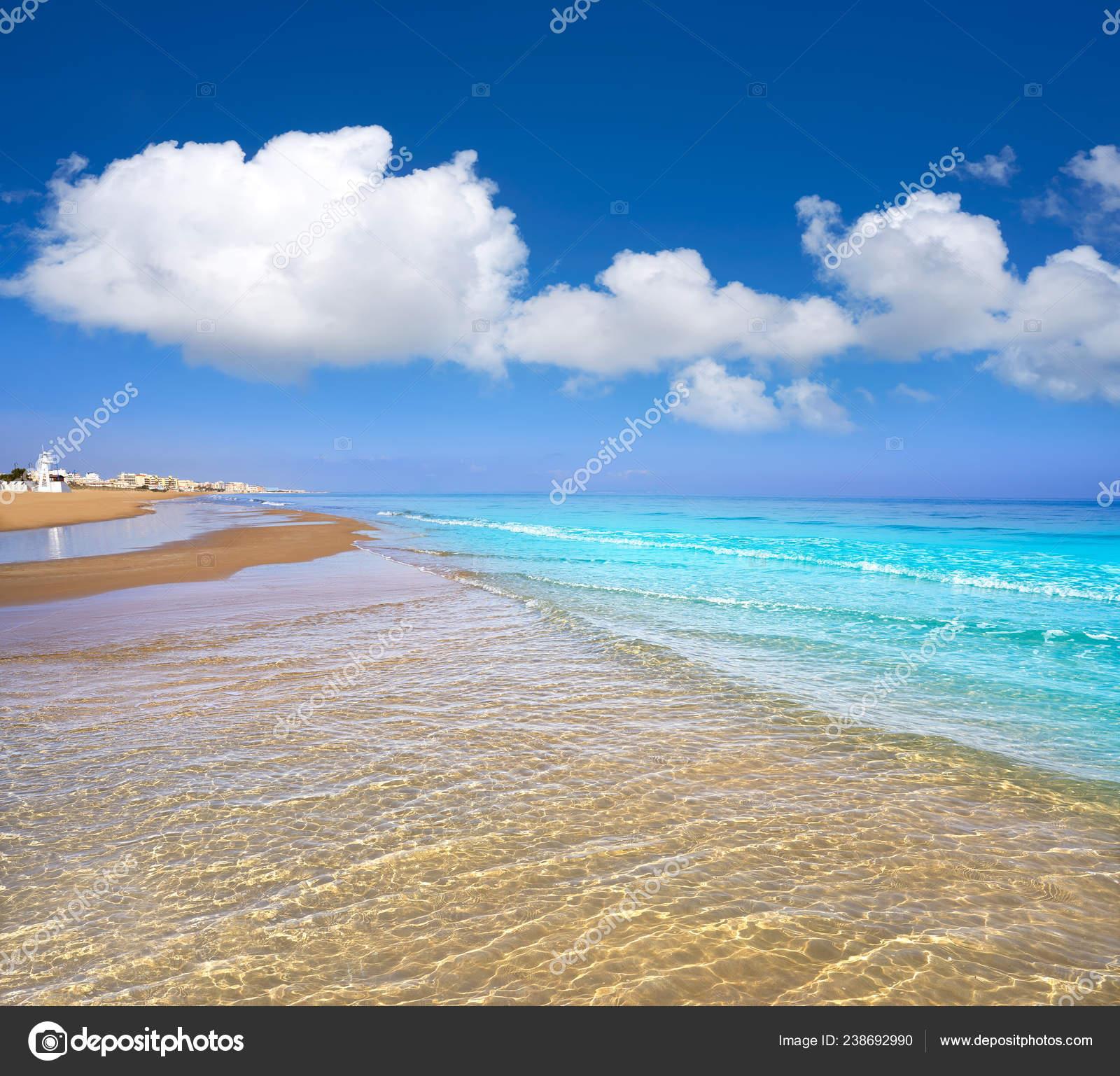 Playa Mata Beach Torrevieja Alicante Spain Costa Blanca Stock Photo Image By Lunamarina 238692990