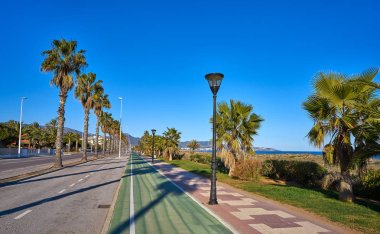 Serradal beach in Grao de Castellon Spain
