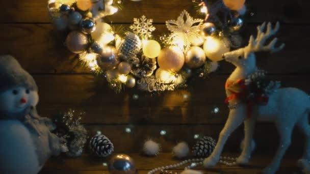 vánoční věnec closeup